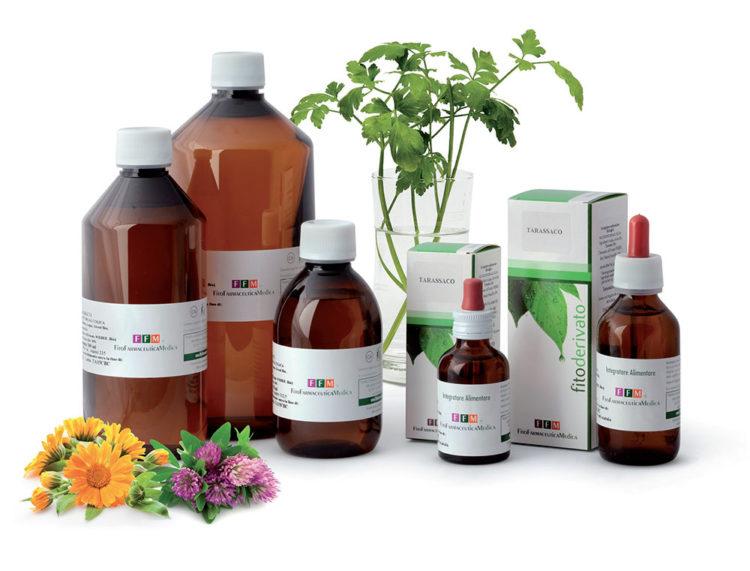 Estratti idroalcolici da pianta fresca